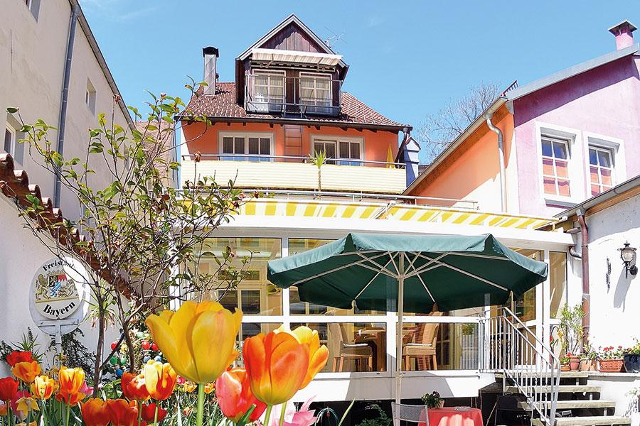 Hotel Garni Lindau Insel