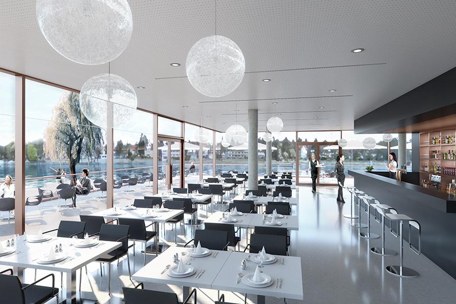 Schon Seerestaurant Inselhalle Lindau